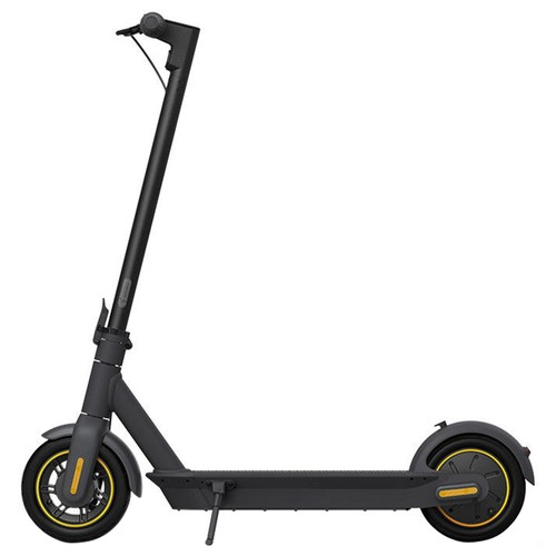 Ninebot KickScooter MAX G30 G30P Portable Folding Electric Scooter 350W Motor Max Speed 30km/h 15.3Ah Battery - Black