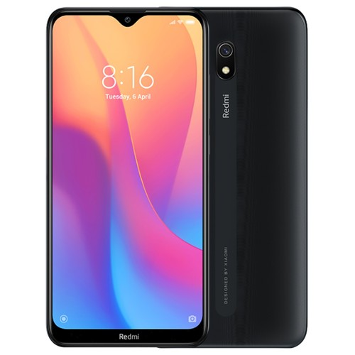 Xiaomi Redmi 8A 6.22 Inch 4G LTE Smartphone Snapdragon 439 2GB 32GB 12.0MP+8.0MP Dual Cameras Face Identification Dual SIM MIUI 10 Global Version - Black