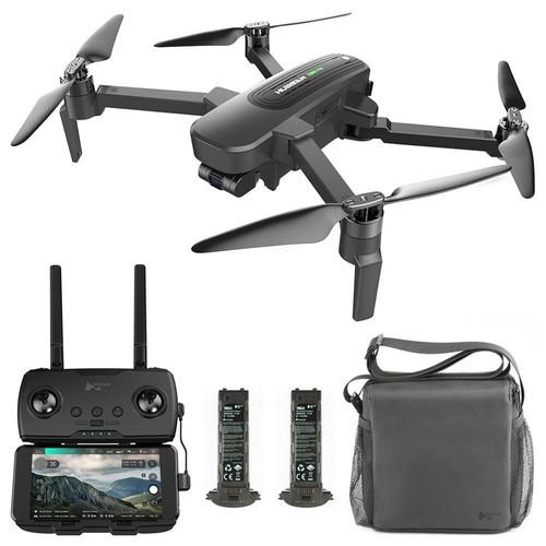 Hubsan ZINO PRO GPS 5G WIFI 4KM FPV RC Drone UHD 4K 3-Axis Gimbal Detachable Filter Camera Panorama Photography Mode RTF - Portable Three Batteries Version