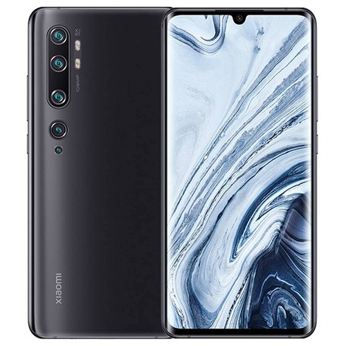 Xiaomi Mi Note 10 6.47 Inch 4G LTE Smartphone Snapdragon 730 6GB 128GB 108.0MP + 12.0M + 20.0MP + 5.0MP + 2.0MP Penta Rear Cameras NFC Fingerprint ID Dual SIM MIUI 11 Global Version - Black