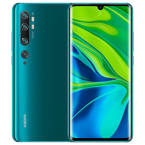Xiaomi Mi Note 10 6.47 Inch 4G LTE Smartphone Snapdragon 730 6GB 128GB 108.0MP + 12.0M + 20.0MP + 5.0MP + 2.0MP Penta Rear Cameras NFC Fingerprint ID Dual SIM MIUI 11 Global Version - Green