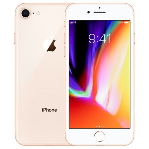 """Apple iPhone 8 64GB Unlocked Gold 4.7"""" Retina Display, Touch ID - Used (Item Condition - 99% New)"""