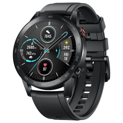 Huawei Honor Magic 2 Minos 46MM Smartwatch 1.39 Inch AMOLED 454*454 pixels Display 5ATM Water Resistant GPS Global Version