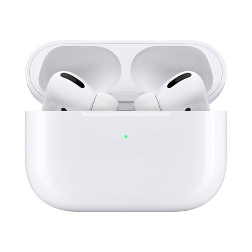 Apple AirPods Pro Bluetooth 5.0 True Wireless Earphone H1 Chip Transparency Mode QI Wireless Charging - White