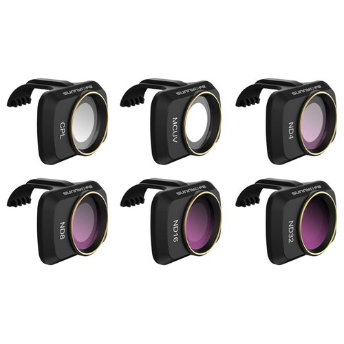 Sunnylife RC Aircraft Expansion Spare Parts MCUV/CPL/ND4/ND8/ND16/ND32 Camera Filter Lens Set For DJI Mavic MINI