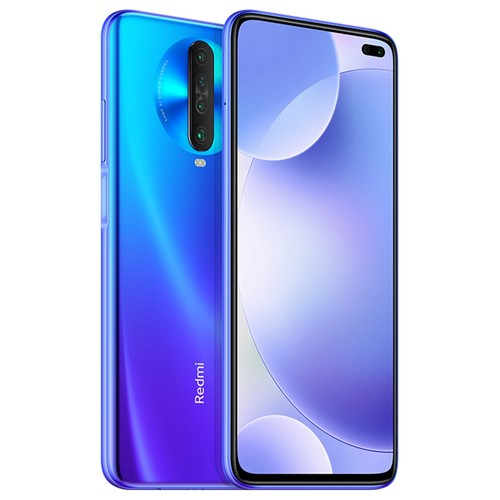 Xiaomi Redmi K30 CN Version 4G LTE Smartphone 6.67 Inch FHD+ Screen Snapdragon 730G Octa Core 8GB RAM 256GB ROM Android 10.0 Dual Front Quad Rear Cameras 4500mAh Large Battery - Blue