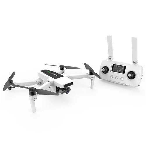 Hubsan ZINO 2 5G WIFI 8KM FPV 4K/60fps GPS Foldable RC Drone With 3Axis Detachable Gimbal 33mins Flying Time RTF Standard Version - White