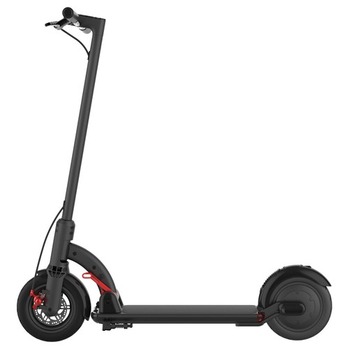 N4 Folding Electric Scooter 8.5 Inch Tire 300W Brushless Motor Max Speed 30km_h  Up To 20km Range  Black