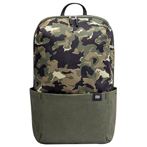 Xiaomi 10L Backpack Camouflage Portable Zipper Large Capacity Level 4 Waterproof EPE Cotton Shoulder Strap - Green