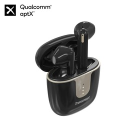 Tronsmart Onyx Ace Bluetooth 5.0 TWS Earphones 4 Microphones Qualcomm QCC3020 Independent Usage aptX/AAC/SBC 24H Playtime Siri Google Assistant IPX5 - Black
