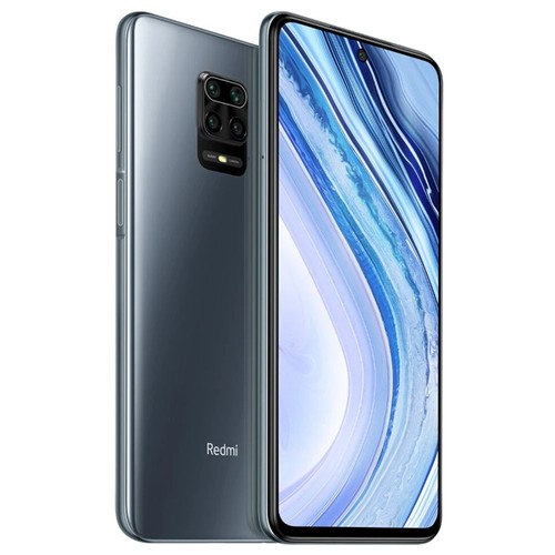 "Xiaomi Redmi Note 9 Pro Global Version 6.67"" DotDisplay 4G LTE Smartphone Qualcomm Snapdragon 720G 6GB RAM 64GB ROM Android 10.0 Quad Rear Camera 5020mAh Battery NFC 30W Fast Charging Dual SIM Dual Standby - Interstellar Grey"