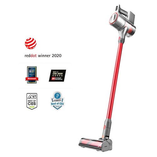 Roborock H6 Cordless Vacuum 150AW Strong Suction 420W Brushless Motor 3610mAh Battery OLED Display Portable Wireless Handheld Vacuum Cleaner International Version - Space Silver