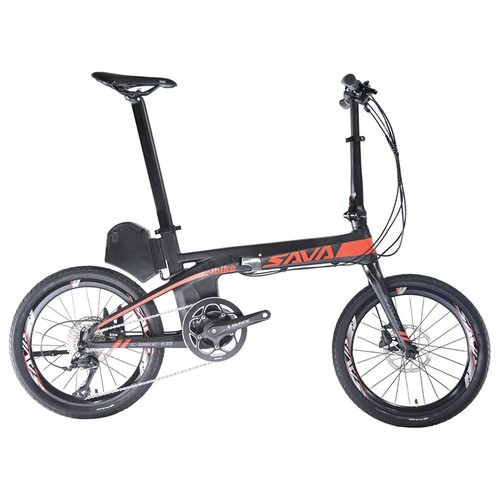 Sava E8 Carbon Folding Electric Bike