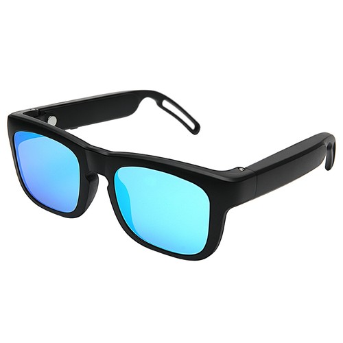 Mutrics MUSIG_X Smart Audio Sunglasses UV 400 Lens Qualcomm AptX cVc Virtual 5.1 IP55 Siri Google Assistant  Blue