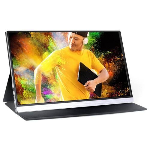 AOSIMAN CYS156FI 15.6 Inch 1080P IPS Portable Monitor 66% sRGB HDR Quad...