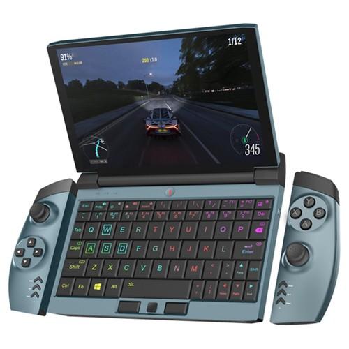 Um laptop para jogos Netbook OneGx1 de 7 polegadas 1920x1200 i5-10210Y 16GB RAM 512GB SSD WiFi 6 Versão Windows 10 WiFi - Azul