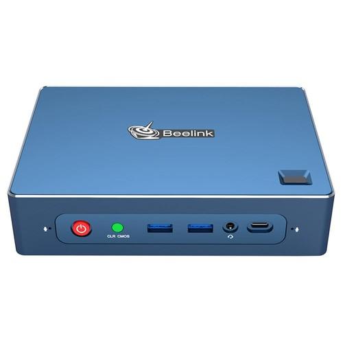 Beelink GT_R Windows 10 Pro MINI PC 8GB DDR4 256GB SSD 1TB HDD AMD Ryzen5 3550H Quad Core Radeon Vega 8 Graphics Wi_Fi CERTIFIED 6 802.11ax Bluetooth 5.1 HDMI*2 DP RJ45*2 Type_C