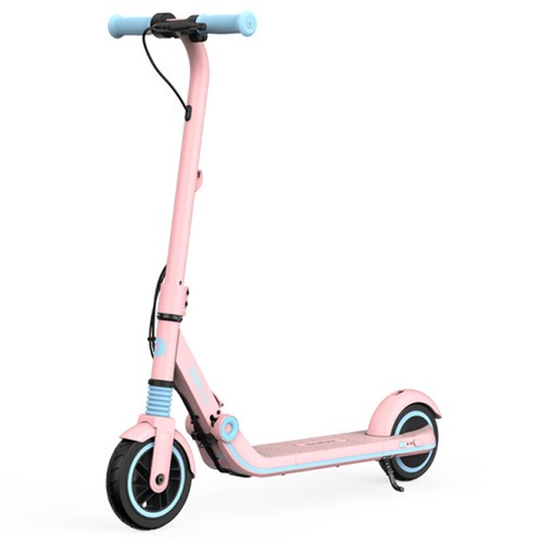 Ninebot Segway Kickscooter Zing E8 Folding Electric Scooter for Kids 130W Motor 14km_h Max Speed 2550mAh_55.08Wh Battery BMS aluminum alloy Frame BMS TPR Handlebar up to 10KM Range  Pink