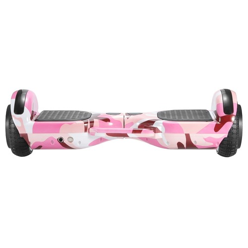 Imina 6.5 inch Self Balancing Scooter Hoverboard 500W with Bluetooth Speaker and StripLight  Pink