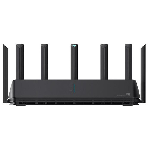 Xiaomi AIoT Router Global Version AX3600 WiFi 6 2976 Mbps 2.4GHz + 5GHz OFDMA MU-MIMO High Gain 6 Antennas 512MB Memory English Language - Black