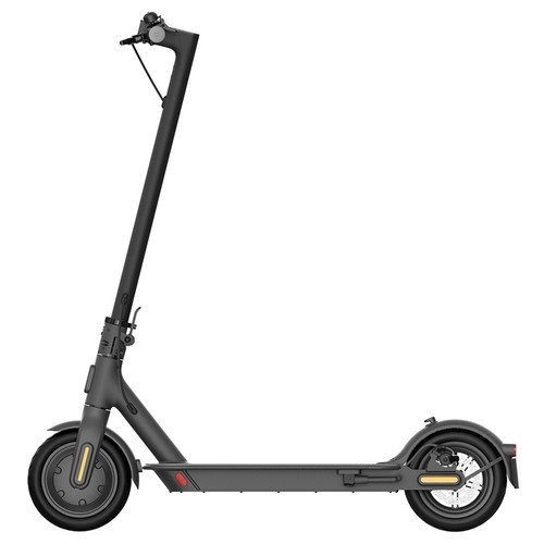 Mi Electric Scooter 1S 8.5 Inch Xiaomi Folding Electric Scooter 250W Brushless Motor Up To 30km Range Max speed 25km_h Smart Display Dual Brake Global Version  Black