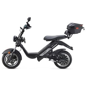 DAYI MOTOR e-Thor 5.0 Electric Motorcycle 4000W Brushless Motor 38AH Battery 13 Inch Scooter - Black