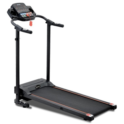 Merax Foldable Treadmill Running Machine with Loudspeaker for Home Gymnastics_Fitness