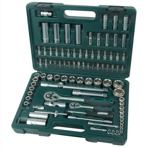 Brüder Mannesmann 94 Piece Ratcheting Socket Spanner Set 98410