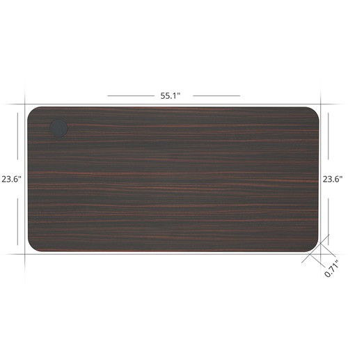 ACGAM 140*60*1.8 CM MDF High Quality Table Top Suitable for ACGAM Electric Standing Desk Frame (Single Motor and Dual Motor) - Mahogany