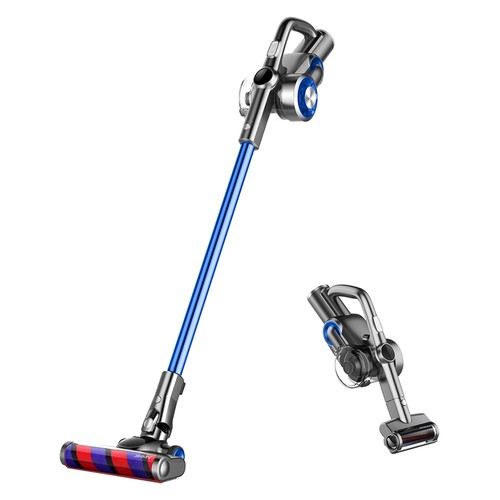 JIMMY H8 Lightweight Smart Handheld Cordless Vacuum Cleaner 160AW 25000Pa Powerful Suction, 500W Motor, 60 Minutes Run Time, Auto Power Adjust LED Display Removable Battery Pack Anti_winding Ultra_low Noise for cleaning floors, furniture by Xiaomi