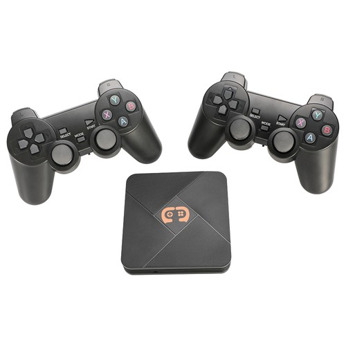 GAMEBOX G5 32GB Video Game Console with 2 Gamepads HDMI PSP_CPS_FC_GB_MD_SFC_N64_PS1_ATARI