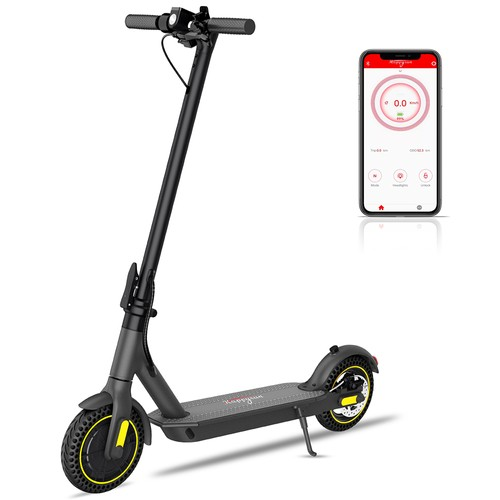 HappyRun HR365 MAX Folding Electric Scooter 10 inch HoneycombTire 7.8Ah Battery