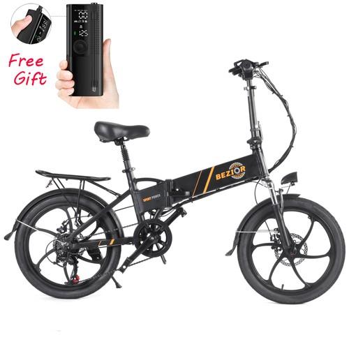 bezior-m20-folding-electric-bike-20-inch-10-4ah-350w-motor-black-1630399241685._w500_ Guida E-Bike Bezior: Bici elettriche Economiche 2021 per ogni Esigenza