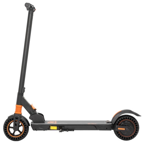 KugooKirin S1 Pro 8 inch Solid Honeycomb Tire Folding Electric Scooter 350W Motor LED Display Screen 3 Speed Modes Max 30km/h - Black