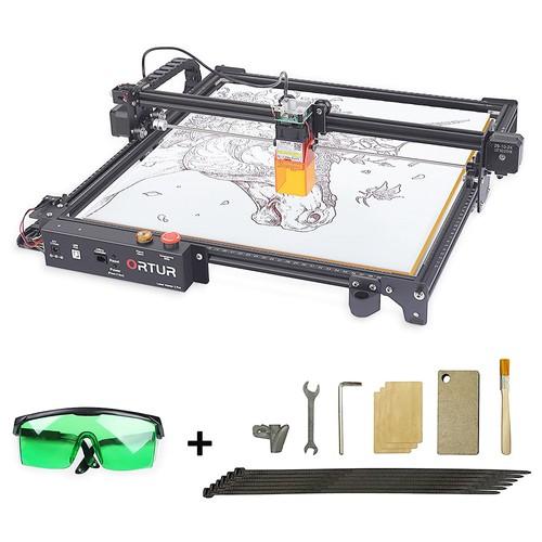 Ortur Laser Master 2 Pro Laser Engraver Cutter, 2 In 1, 400mm*400mm Engraving Area, 10,000mm_min