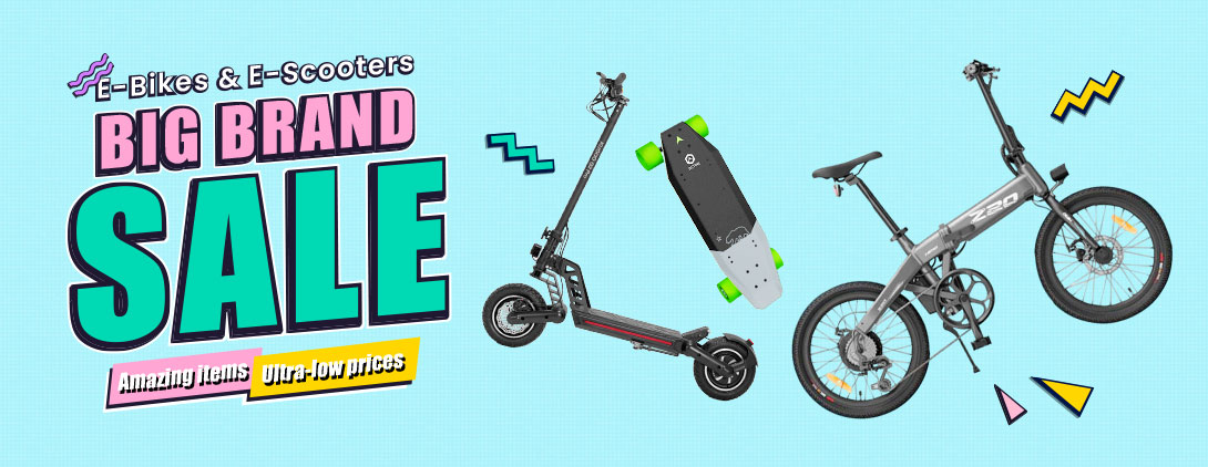 E-Bikes & E-Scooter Big Brand Sale