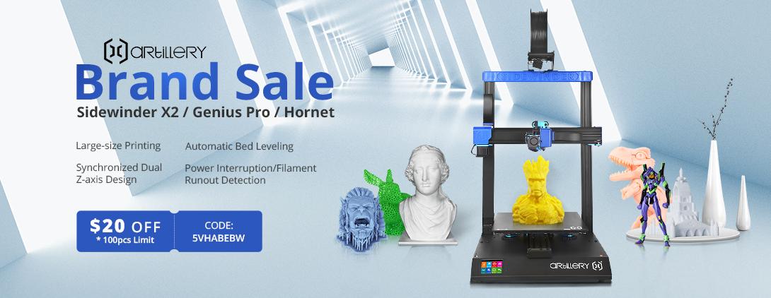 Artillerie 3D-printers