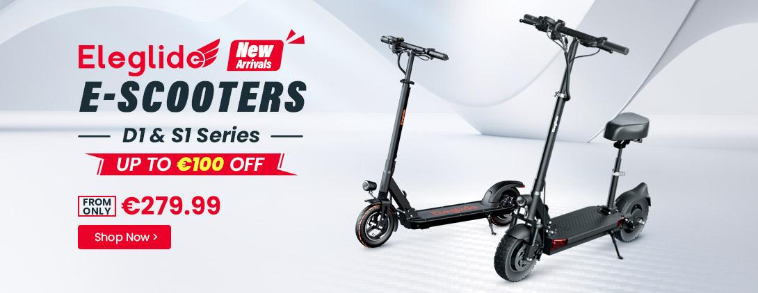 Eleglide Neue E-Scooter