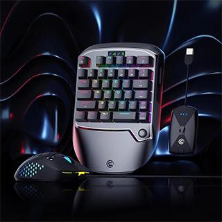 Eén combo voor alle consoles. Backlight volledige toetsen programmeerbaar via GameSir G-Crux.