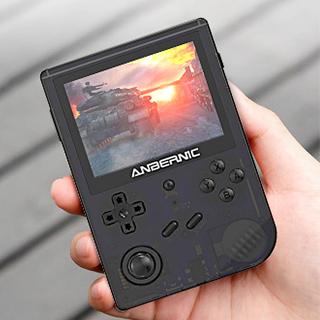 """Console de jeu portable 128 Go, écran IPS 3.5"""" 640 * 480P, 20,000 jeux, double emplacement pour carte TF"""