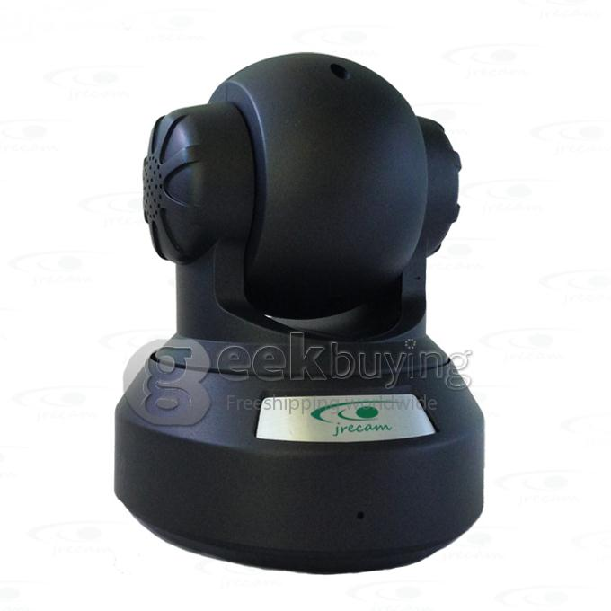 Caméra IP sans fil de sécurité Jrecam JM3866W 720P Mega Pixel P2P Audio bidirectionnel Plug and Play avec prise en charge de la vision nocturne infrarouge Micro Card