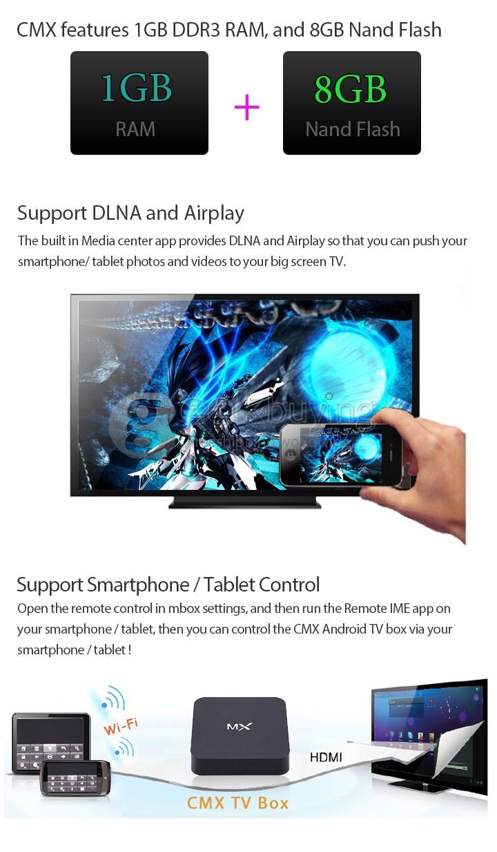 Amlogic Aml8726 Mxs Tablet Firmware Download cmx aml8726-mx android 4.2 dual core mini tv box hdmi hdd player 1g/8g  built-in xbmc 1080p rj45 av port - black