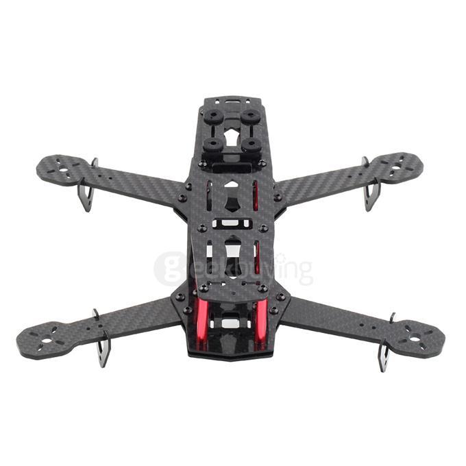 250mm Mini FPV Quadcopter Carbon Fiber Frame Kit For QAV250
