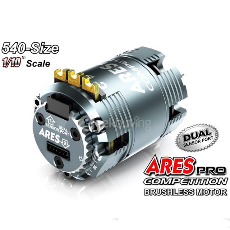 Sensored Brushless Motor 13.5T 540 Kupferwicklungen T6 Kühlkörper Abnehmbarer DE