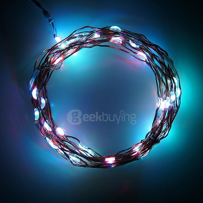 3m 30 Led Lights Battery Cartridge Copper String Lights