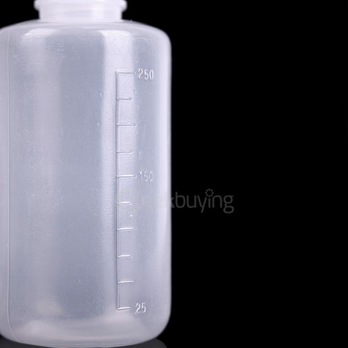 LZ001 250ML Long-necked Green Algae Bottle 4Pcs - White