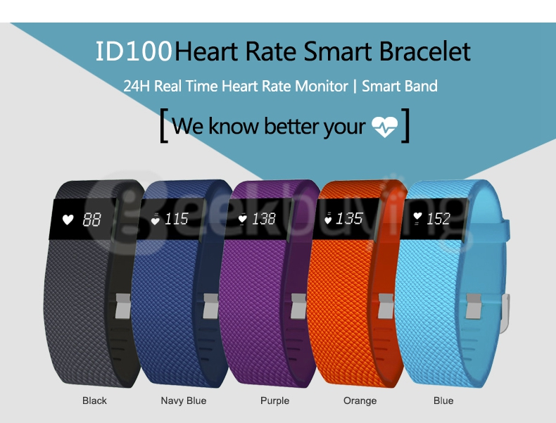 Smart Bracelet Heart Rate Monitor