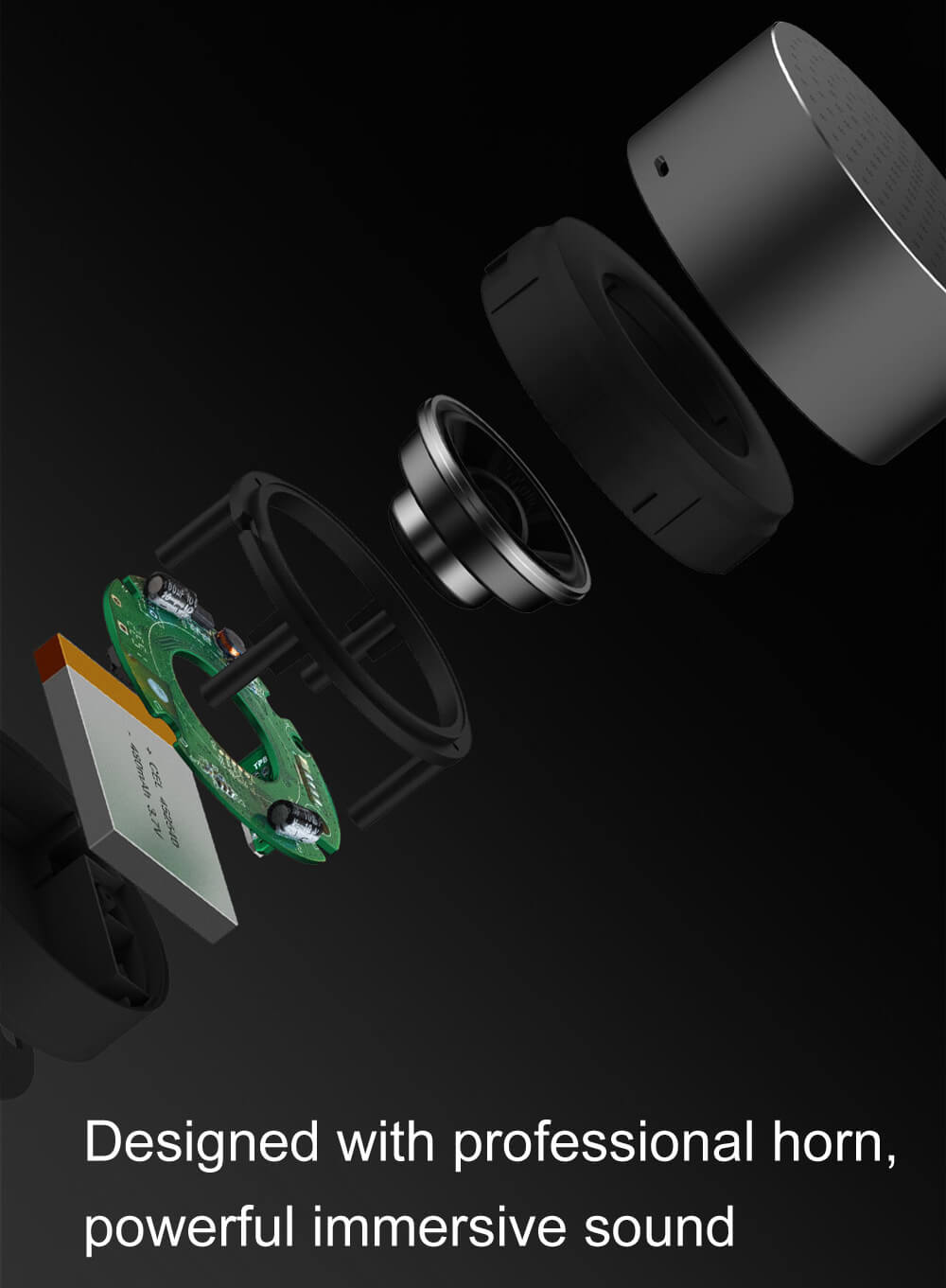 מיני רמקול נייד של חברת xiaomi עם בלוטוס