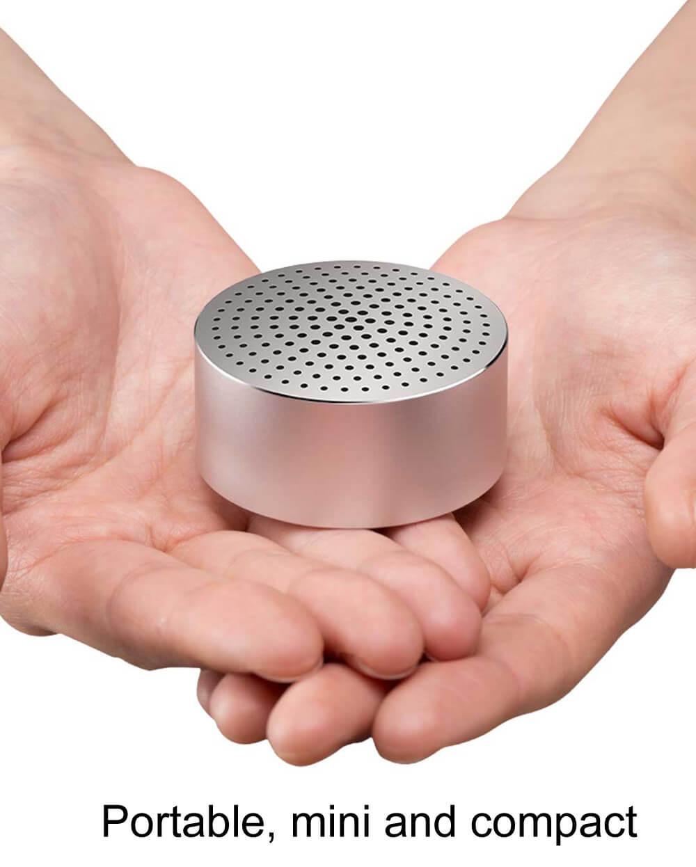מקורי דובר XIAOMI Bluetooth רמקול אלחוטי BluetoothXNXX מיני רמקול - כסף