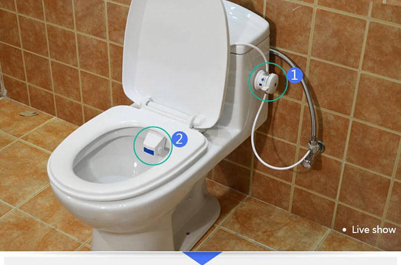 Surprising Heshe B81 Bathroom Smart Toilet Seat Bidet Intelligent Toilet Flushing Sanitary Device With Eu Adapter White Ibusinesslaw Wood Chair Design Ideas Ibusinesslaworg